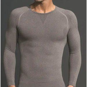 Equmen Compression Undershirt Long Sleeve GRAY M
